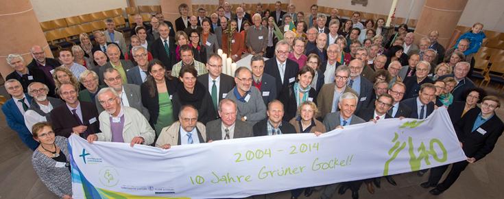 10 Jahre Grüner Gockel in der badischen Landeskirche; Quelle: Gustavo Alàbiso, Fotograf, BUE